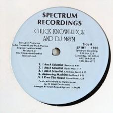 "Chuck Knowledge and DJ M&M - I Am a Scientist - 12"""