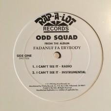 "Odd Squad - I can't See It - 12"""