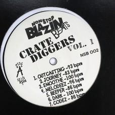 Crate Diggers Vol 1 - Blazin' Beats - LP