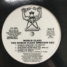 The World Class Wrechin Cru - World Class (Promo) - LP