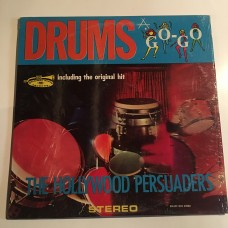 The Hollywood Persuaders - Drums A Go-GO - LP