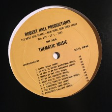Robert Hall Productions - Thematic Music 246-247 - LP